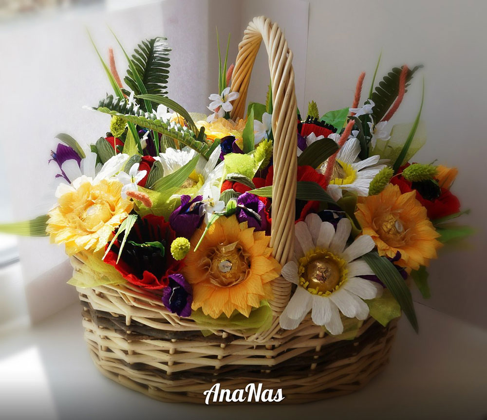 Маст ерскую сладкой флористики ananas