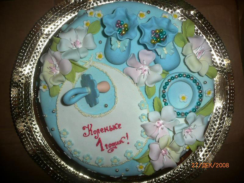 Украсить торт ребенку в день рождения с фото