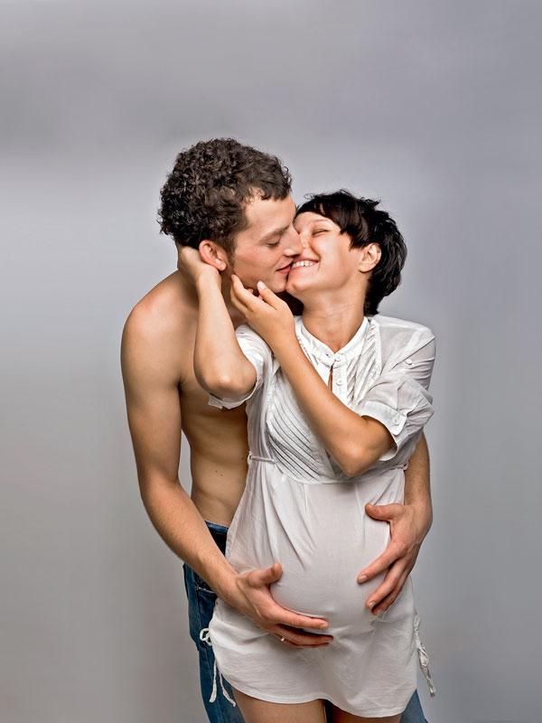 Секс с беременной роды